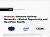 On Demand Webinar: Software Defined Networks – Market Opportunity and OpenFlow Reality Description